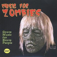 Music For Zombies; Verne Langdon 2003 CD, Scary Music, Halloween, Electric Lemon