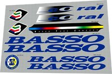 BASSO Coral Sticker / Decal Set