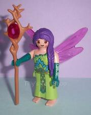 Playmobil   Fairy Lady with Purple Hair & Staff for Magic Castle sets - NEW