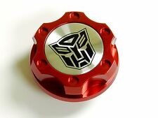 FORD MUSTANG AUTOBOT BILLET RED ENGINE OIL CAP