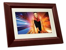 Philips SPF3402S/G7 10.1-Inch Digital Picture Frames (Brown/Black with White