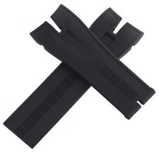 Roger Dubuis 25x21mm Black Rubber Watch Band Strap EX42/M