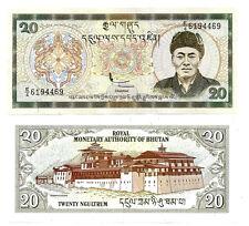 BHUTAN 20 NGULTRUM 2000 UNC P 23