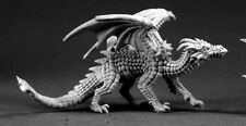 Young Fire Dragon Reaper Miniatures Dark Heaven Legends Monster Drake Wyrm