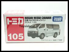 TOMICA #105 NISSAN NV350 CARAVAN 1/69 TOMY 2016 April New Model VAN White