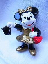Vintage Design Strass Brosche Brooch Walt Disney Minnie Maus Figur Bully Nr.155