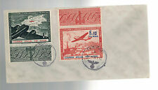 1942 France Cover Waffen SS Foreign Legion Volunteer Stamps with Tabs Airmails