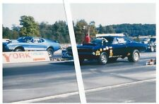 1970s Drag Racing-73 Mach 1 Mustang vs 69 Dodge Charger-YORK US30 Dragway