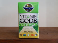 Garden of Life Vitamin Code RAW B-Complex 60 Capsules