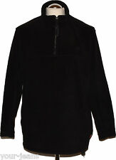 Jack Wolfskin Fleece Pullover  Gr. M   Schwarz  Tecnopile  Storm Lock