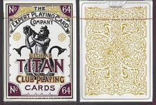 1 DECK Global Titan Club Pearl White playing cards