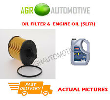 DIESEL OIL FILTER + C1 5W30 OIL FOR MITSUBISHI OUTLANDER 2.0 140BHP 2006-10