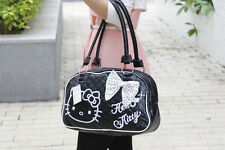 HelloKitty  Black  Handbag Tote Shoulder Bag 2017  New Pu Bow  Small Size