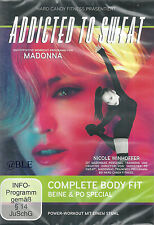 DVD + Addicted to Sweat + Complete Body Fit + Beine & Po +  Workout + Madonna +