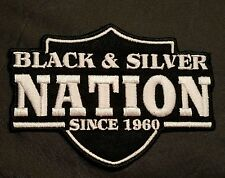 raiders patches.. RNFL.. raider nation silver and black 1960.. Oakland raiders