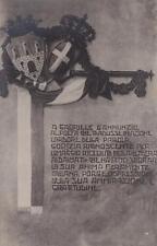 C1298) FOTO DELLA PERGAMENA DONATA A GABRIELE D'ANNUNZIO DALLA CITTA' DI GORIZIA