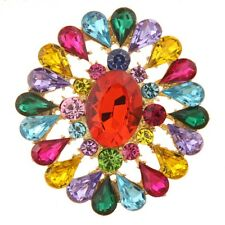 Fashion Color Crystal Brooch Alloy from beautiful China