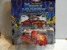 Maisto Muscle Machines Red Blown 1955 Chevy Pickup Truck