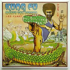 The Mighty Upsetter - Kung Fu Meets The Dragon LP UK  Justice League JLLP 5000