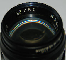 Jupiter 3 Black  1.5/50 m39 for Leica zorki sonnar copy  SN.841324