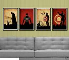 Modern Abstract Huge Wall Art Oil Painting On Canvas(No stretch)Superhero +Gift