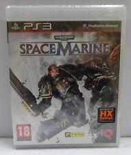 Game SONY Playstation 3 PS3 ITALIANO - Warhammer 40.000 SPACE MARINE - NUOVO NEW