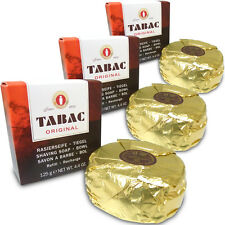 3x Tabac Original Shaving Shave Soap REFILL 125g for Bowl