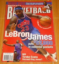 LEBRON JAMES TYREKE EVANS BECKETT BASKETBALL #224 MARCH '10 COLLECTIBLE MAGAZINE