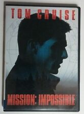 Like New DVD Mission: Impossible Tom Cruise Jon Voight Widescreen Fullscreen