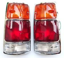 ISUZU PICK-UP KB42 1995-  Rear Tail Signal Lights Lamp 1Set LEFT + RIGHT Chrome