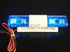 RC 1:10 Ambulance Rescue Police Car Flash 360 Degree Rotation BLUE LED 105x25mm