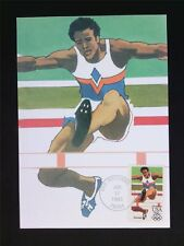 USA MK OLYMPICS 1984 RUNNING MAXIMUMKARTE CARTE MAXIMUM CARD MC CM c5955