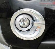 CHROME FOG LAMP LIGHT COVER NEW MITSUBISHI L200 TRITON 2006-2009 ANIMAL WARRIOR