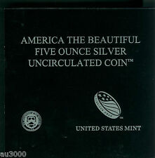 US Mint Box & COA for 2014-P EVERGLADES 5 Oz. ATB SPECIMEN SILVER NO COINS !!!!