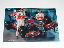 2013 Vodafone Mclaren Mercedes Button / Perez  7x5 Launch Photo 11