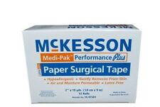 Medi-Pak Performance Plus Medical Surgical Tape, Paper, 2 in X 10 yrd - Box of 6