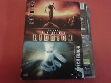 VIN DIESEL LES CHRONIQUES DE RIDDICK / PITCH BLACK COLLECTION COFFRET 2 DVD