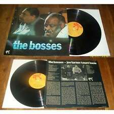 Count Basie / Joe Turner ‎– The Bosses LP Cool Jazz Pablo