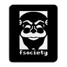 F Society Fun Society Logo Mr Robot Hacker Group Film TV Large Mouse Pad