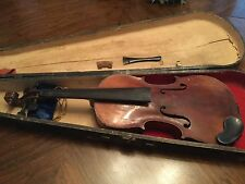 ANTIQUE  Antonius Stradivarius VIOLIN COPY MADE IN GERMANY  & Case