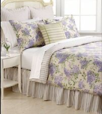 Ralph Lauren Queen Comforter Set NIP Cape Elizabeth Lilac 4pc Shams Bedskirt