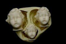 Sugarcraft Molds,Cake Decoratings,Baby Mold,Cupcake,Clay,Soap -2D BABY FACE#2