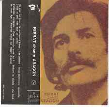 K7 AUDIO (TAPE)  JEAN FERRAT *FERRAT CHANTE ARAGON* (BIEM)
