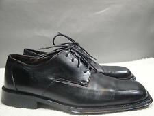 MENS 8 KENNETH COLE NEW YORK ITALY BLACK LEATHER OXFORD SHOES