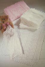 Baby's Shawl Knitting Pattern