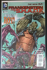 Frankenstein Agent of SHADE #9 VF NM- 1st Print DC Comics New 52