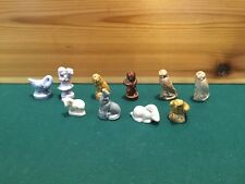 Wade Rose Tea Figurines Lot Of 10 Only 2 Duplicate