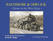 B&O BALTIMORE & OHIO RAILROAD  Steam on the West Slope of Sand Patch Grade,1930s