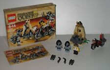 7306 LEGO Golden Staff Guardians 100% Complete w box & Instructions EX COND 2011