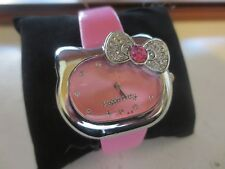 NIB Gift Hello Kitty Kids Teens Pink Watch Relo Reloj Strap Present Birthday